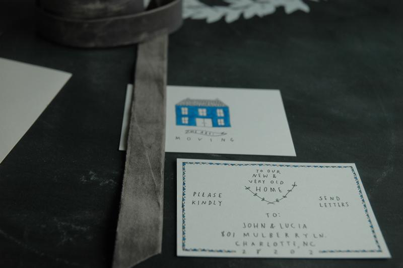 Moving card back detail