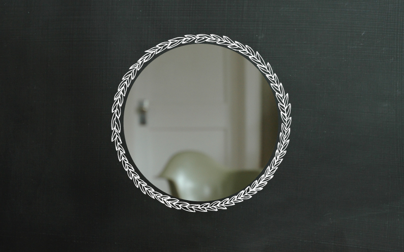 Laurel mirror